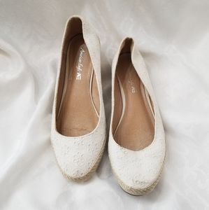 American Eagle Espadrilles wedge Size 11 shoes